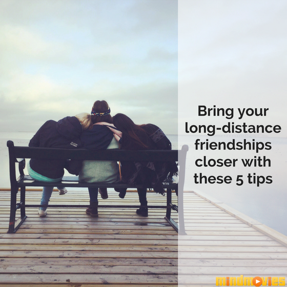 5 Thoughtful Ways to Maintain Long-Distance Friendships
