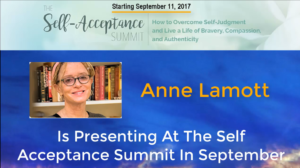 Anne Lamott is Presenting at The Self Acceptance Summit