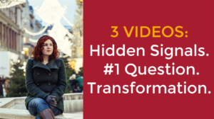3 Videos ~ Hidden Signals~ #1 Question ~ Transformation