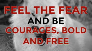 Feel The Fear And Be Courageous Bold and Free (eBook & Video Download)