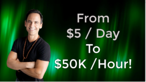 Derek Rydall Went From $5 a Day to $50K an Hour